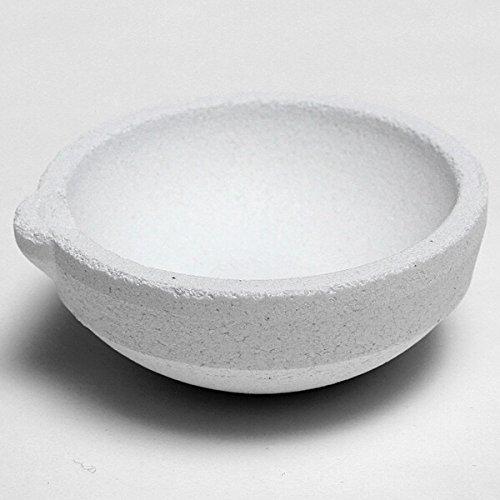 Silica Melting Crucible Pot Casting For Gold Silver Platinum Refine