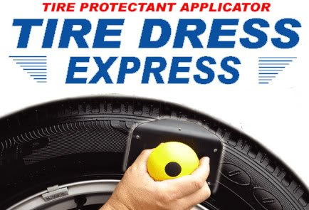 Tire Dress Express PROFESSIONAL ROTATING LIGHTNING-FAST NO-MESS No-Waste Tire Dressing Applicator (Applicator and Pad)