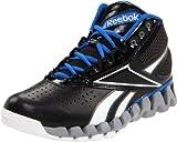 Reebok Zig Pro Future Basketball Shoe Little Kid Big Kid Black/ Grey/Gray Blue/White 6.5 M US Big Kid