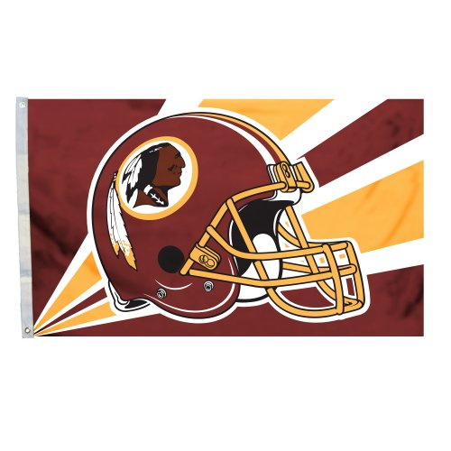 NFL Washington Redskins 3-by-5 Foot Helmet Flag at Amazon.com