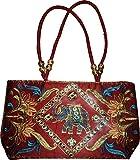 Czds India Women's Orange Handbag (BAG-03)
