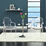 Casper Dining Armchair in Clear