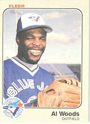 1983 Fleer #444 Al Woods Toronto Blue Jays Baseball Card