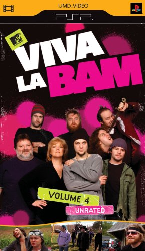 Viva La Bam Vol 4 - Sony PSP - 1