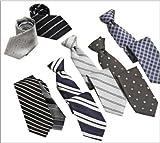 ネクタイ 8点セット 知的なカラー ビジネスセット