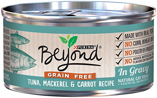 Purina Beyond Gravy Grain Free Tuna, Mackerel & Carrot Recipe Wet Cat Food