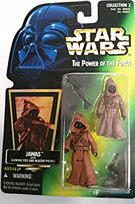 Hasbro Star Wars Power Of The Force Green Card Jawas Action Figure from Hasbro