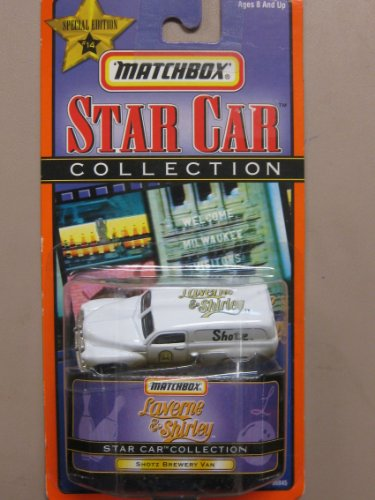 Matchbox Star Car Laverne & Shirley Shotz Brewery van