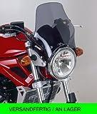 Puig Windscreen Naked Yamaha YBR125CUSTOM 08-13 Honda CG125 slightly toned