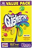 Fruit Gushers Fruit Flavored Snacks, Variety Pack, 12-Count Pouches, 10.8 Ounce, (Pack of 6)