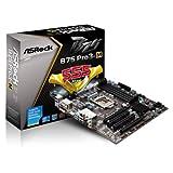 ASRock B75 PRO3-M LGA1155/ Intel B75/ DDR3/ Quad CrossFireX/ SATA3&USB3.0/ A&GbE/ MicroATX Motherboard - RETAIL