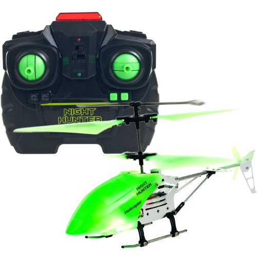 BSS - Night Hunter Xtreme Glow In The Dark RC Helicopter