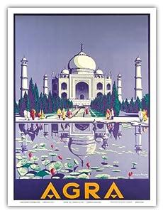 Agra india taj mahal vintage world travel for Agra fine indian cuisine reviews