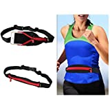 Ohuhu® Waterproof & Durable Sports Running Waist Pack Runner Belt / Running Belt / Runner Pack / Athlete Belt Pouch, High Elasticity, Super Lightweight