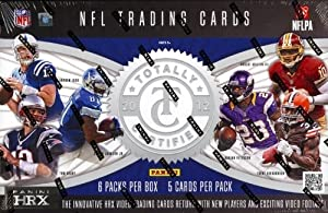 2012 Panini Totally Certified Football Hobby Box (6 hits per box, minimum of 3... by Totally Certified