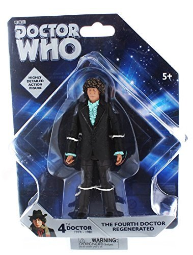 Doctor Who Fourth Doctor Regenerated 5-Inch Action Figure by Underground Toys