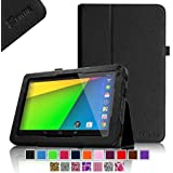 "Fintie Premium Vegan Leather Case Cover for 9"" Android Tablet inclu. NeuTab N9 Pro 9"", Astro Tab A924, Dragon Touch X9 9"", Dragon Touch N90 9"", KingPad K90 9"", iRULU eXpro X1a 9, iRulu 9"" Model AL109, JYJ 9"", Contixo LA903 9"", ProntoTec 9"", ProntoTec 9"", Alldaymall 9"",Goldengulf 9"" ATM7021, Digital Reins 9"", Andteck TouchTab 9"", Zeepad9XN 9"", Tagital T9X 9"", Tagital 9"" A23, Polaroid PTAB935 9"", RCA Tablet 9"", Riin 9"" A20 and More - Black"