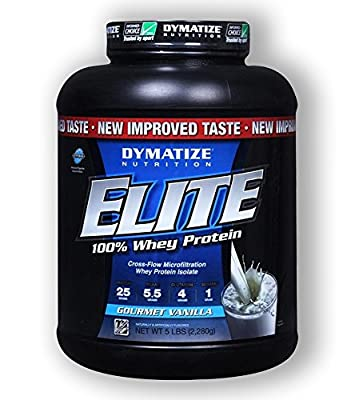 Dymatize Nutrition Elite Whey Protein, Rich Chocolate