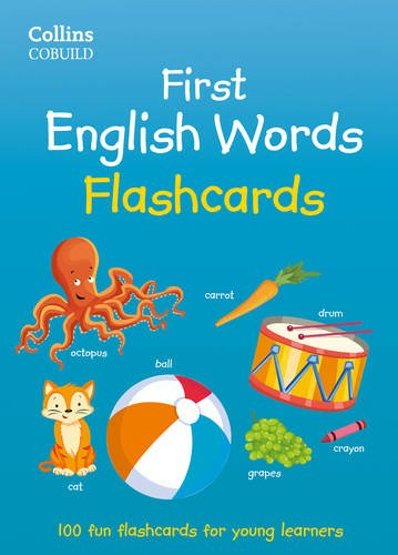 First English Words Flashcards (Collins First) (Collins First English Words)