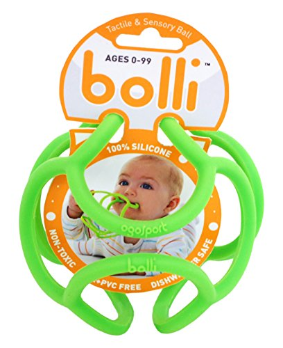 OgoSport Bolli Flexible Discovery Ball & Teether (3 Pack) (Ogosport Llc compare prices)