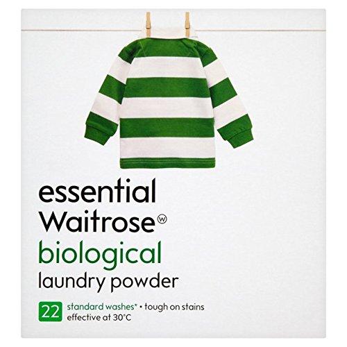 Bio Automatic Washing Powder essential Waitrose 2.4kg