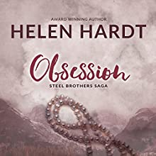Obsession: The Steel Brothers Saga, Book 2 Audiobook by Helen Hardt Narrated by Sebastian York, Neva Navarre