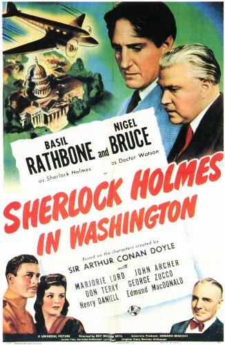 Sherlock Holmes in Washington Film Poster