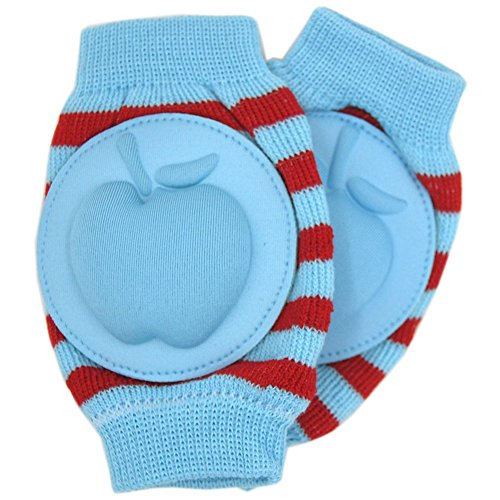 New Baby Crawling Knee Pad Toddler Elbow Pads 805522 Blue-red