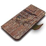 Botticelli - The Infringement, Texture Portafoglio Magnetico Flip Custodia in Pelle Stand Wallet Case Cover Shell...