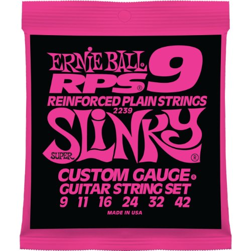 Ernie Ball 2239 RPS Super Slinky Electric Guitar Strings 9-4