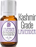 ★ #1 Best Lavender Essential Oil ★ 10ml Rare Premium KASHMIR Grade, 100% Pure, Organic and Highly Effective • Stay Young and Living Well Now with Lavender Oil Fragrance, Good for Aromatherapy, Sleep, Relaxing, Massage, Hair, Wellness - Compare to Doterra and Now. 100% Satisfaction or Money Back Guarantee