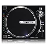 Reloop RP-8000 Advanced Hybrid Torque Turntable with Upper-Torque Direct Drive, Black