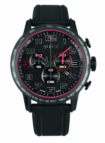 Alfex Men's Rubber Quartz Watch 5672_782