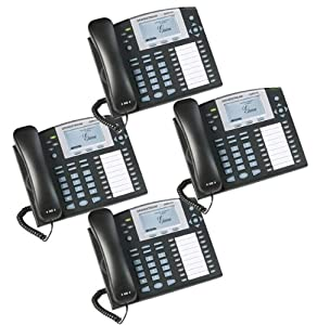 Bundle of 4 Grandstream GXP2100 4-line Desktop HD Telephone