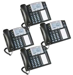 Bundle of 4 Grandstream GXP2100 4-line Desktop HD Telephone