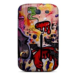 Shock-dirt Proof Box Graffiti Case Cover For Galaxy S3