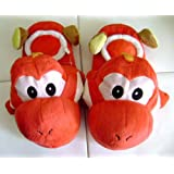Super MARIO BROS.: Red (FireBall) Yoshi Slippers
