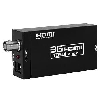 Excelvan reg MINI 3G HDMI to SDI Converter