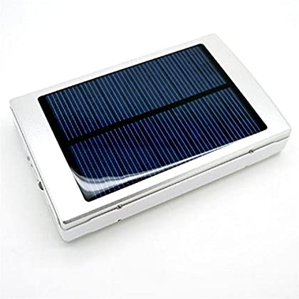 30000 mAh Dual-USB Solar Power Bank Battery Charger for Mobile Cell Phone PSP(Silver) Coupon 2015