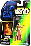 """Star Wars Power of the Force Green Card Hologram 3 3/4"""" Princess Leia Organa as Jabba's Prisoner Action Figure"""