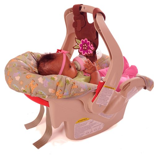 Find Discount Bebe Bottle Sling, Brown Butterfly