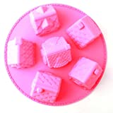 Tanboo Cute House Shape Silicone Cake Moldwith Tanboo Card and Annagle Necklace