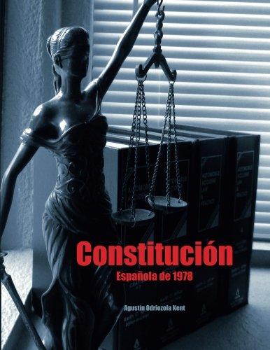 Constitucion Española de 1978: Texto integro en cuaderno formato folio con mas espacio para anotaciones  [Odriozola Kent, Agustin] (Tapa Blanda)