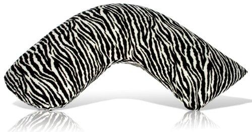 Luna Lullaby Bosom Baby Nursing Pillow Zebra Toddler