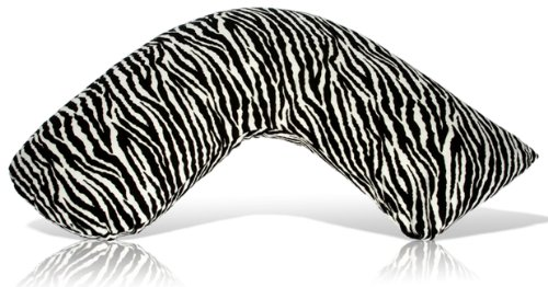 Luna Lullaby Bosom Baby Nursing Pillow, Zebra