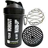 5 O'Clock Sports Mamba Black Fat Boy Shaker Bottle - 600 Ml- Sleek And Convenient Design
