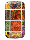 Colorful pictures of fruit and vegetables phone shell s3 case and smart cover shop-on
