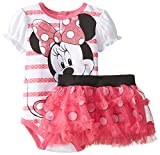 Disney Baby-Girls  Disney Minnie Mouse Bodysuit and Skirt Set
