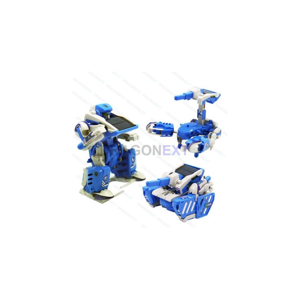 3 In 1 Diy Transformer Solar Toy Robot Tank Scorpion Kit On Popscreen