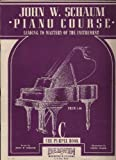 John W. Schaum Piano Course: C The Purple Book (Leading To Mastery of the Instrument)
